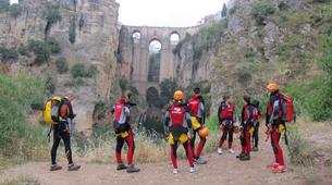Canyoning-Malaga-Canyoning Tajo Ronda Level 2.5-1