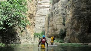 Canyoning-Malaga-Canyoning Tajo Ronda Level 2.5-3