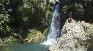 Canyoning-Malaga-Canyoning Tajo Ronda Level 2.5-2