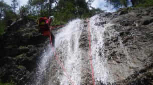 Canyoning-Imst-Xtreme canyoning at Dollinger Gorge in the Tirol-1