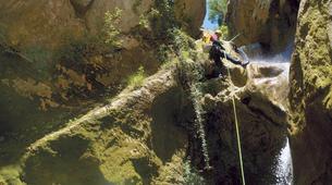 Canyoning-Bagnères-de-Bigorre-Canyoning dans la vallée de l'Adour, proche du Pic du Midi-2
