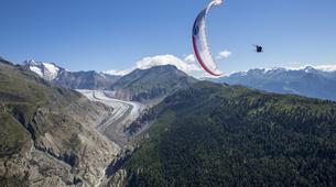 Paragliding-Brig-Glis-Summer Tandem Paragliding in Brig-Glis-1