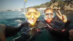 Snorkeling-Antibes-Excursion en bateau et randonnée palmée au Cap d'Antibes-6