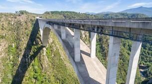 Bungee Jumping-Plettenberg Bay-World's highest bridge bungy, 216m from Bloukrans Bridge-2