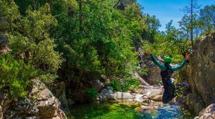 Canyoning-Bavella-Canyon Initiation du Pulischellu à Bavella, Corse-2