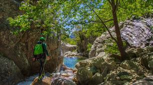 Canyoning-Bavella-Canyon Initiation du Pulischellu à Bavella, Corse-4