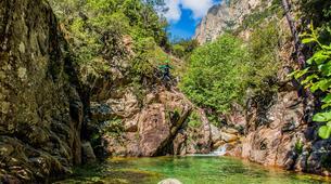 Canyoning-Bavella-Canyon Initiation du Pulischellu à Bavella, Corse-5