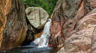 Canyoning-Bavella-Canyon Initiation du Pulischellu à Bavella, Corse-3