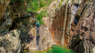Canyoning-Bavella-Canyon Initiation du Pulischellu à Bavella, Corse-1