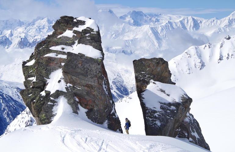 Val Thorens ski freeride