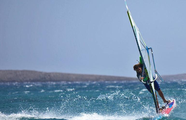 windsurf crète