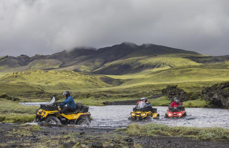 Visitez l'Islande en quad