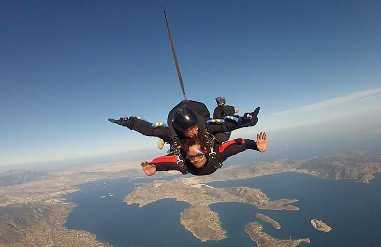 saut en parachute jordanie