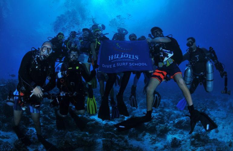 Faire de la plongée sous marine au portugal