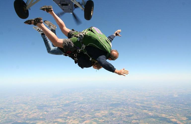 saut en parachute jamaique