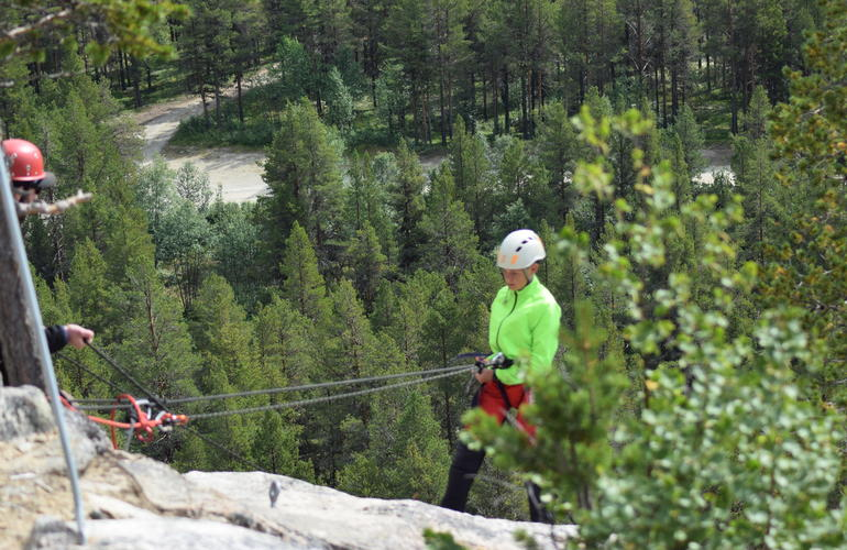 Abseiling Excursion In Dagali Norway