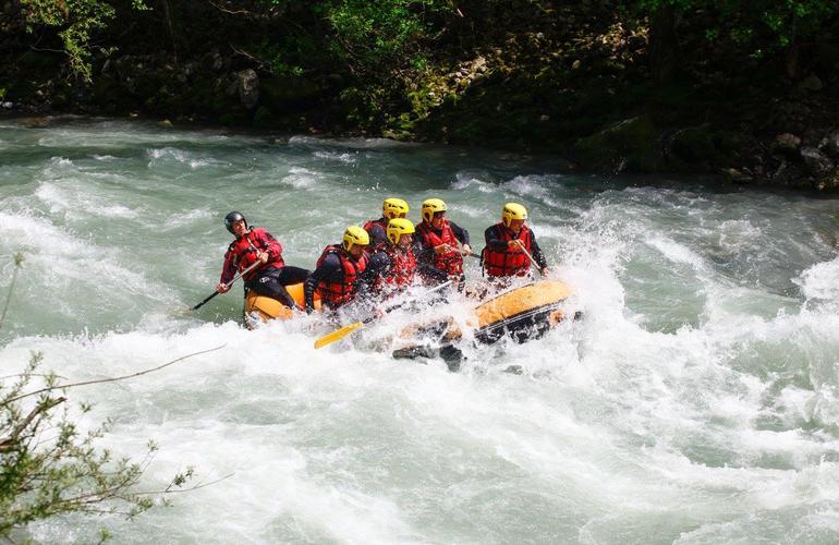 la Dranse à Thonon les Bains Rafting