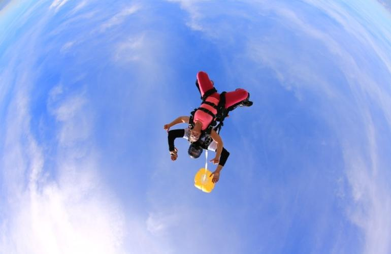 parachutisme grece