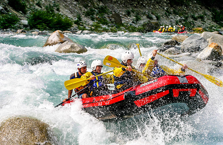 rafting Italy
