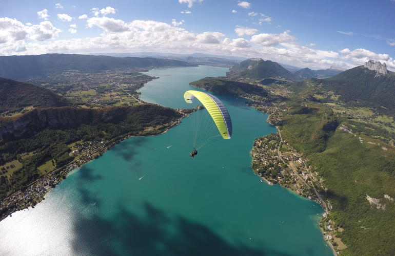 Paragliding Annecy