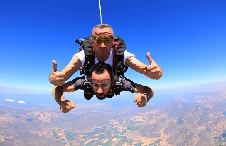 Skydiving Greek Islands