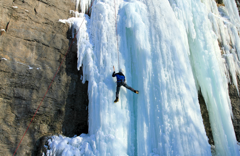 Cascade de Glace Adrenaline Hunter