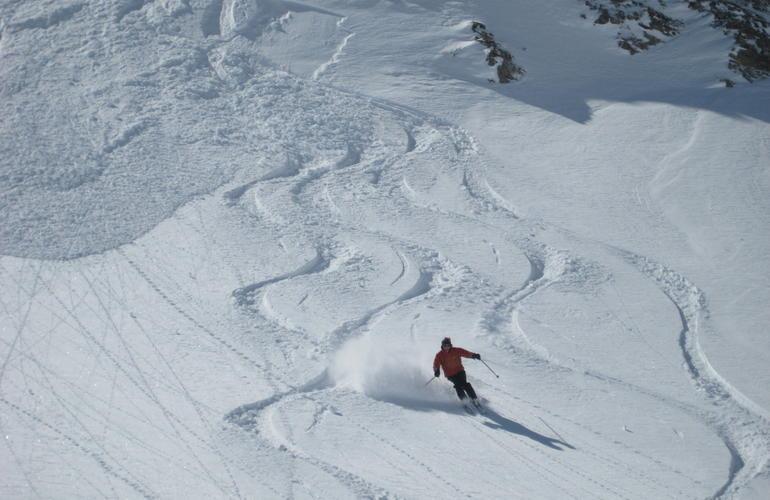 Ski hors-piste à Val d'Isère