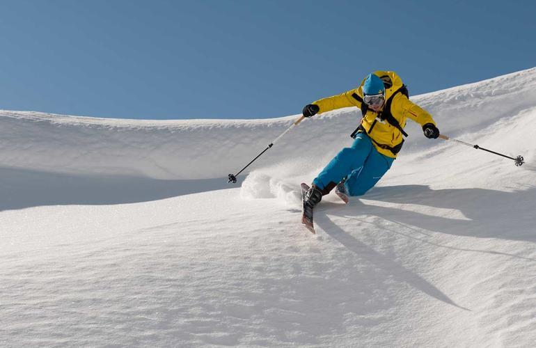 Saint-Lary, ski freeride