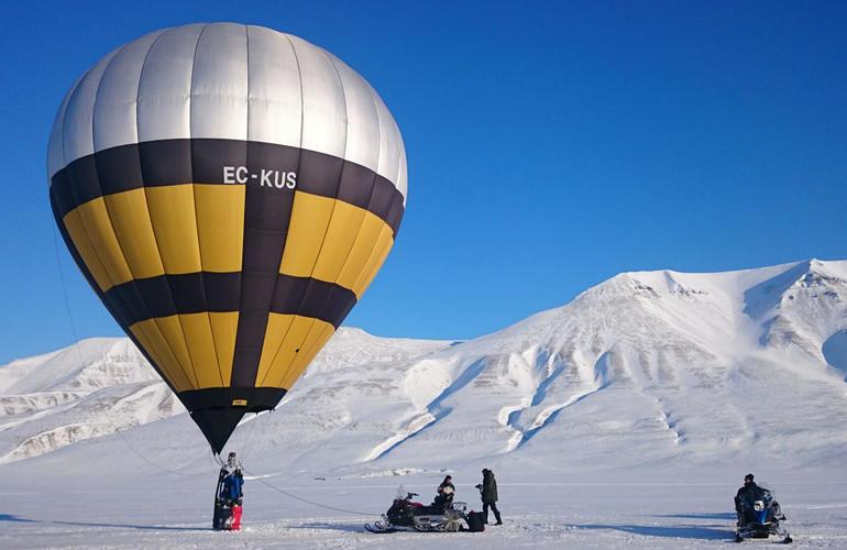 Montgolfière Svalbard (Norvège)