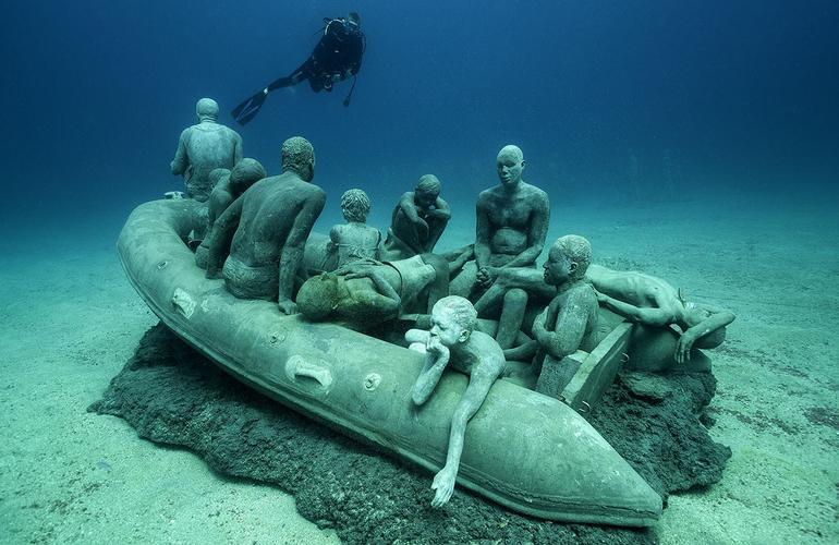 Plongee Musee Atlantique Sous-Marin de Lanzarote