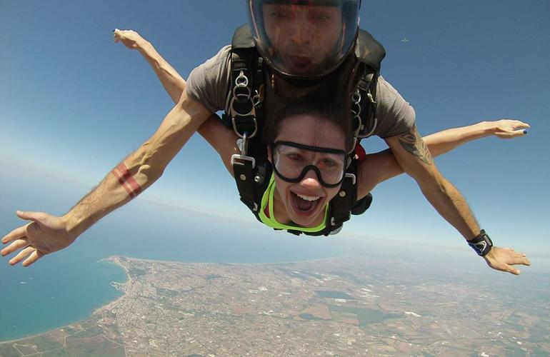saut en parachute rome