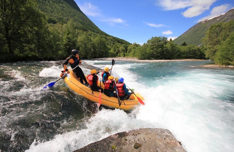 rafting norvège