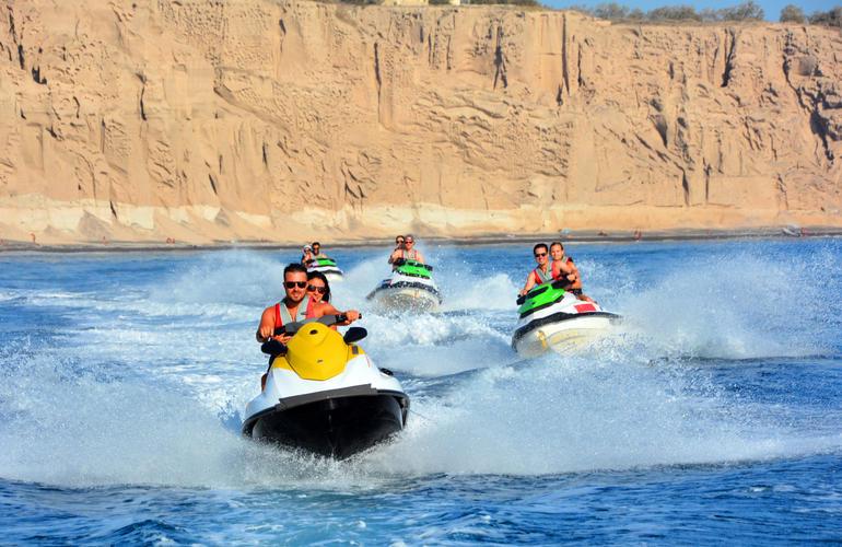 jet ski, Santorin, Grèce, adrenaline hunter