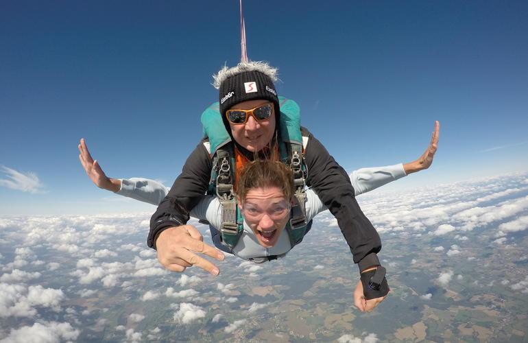 parachutisme dijon