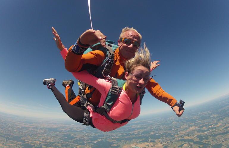 parachutisme tournus