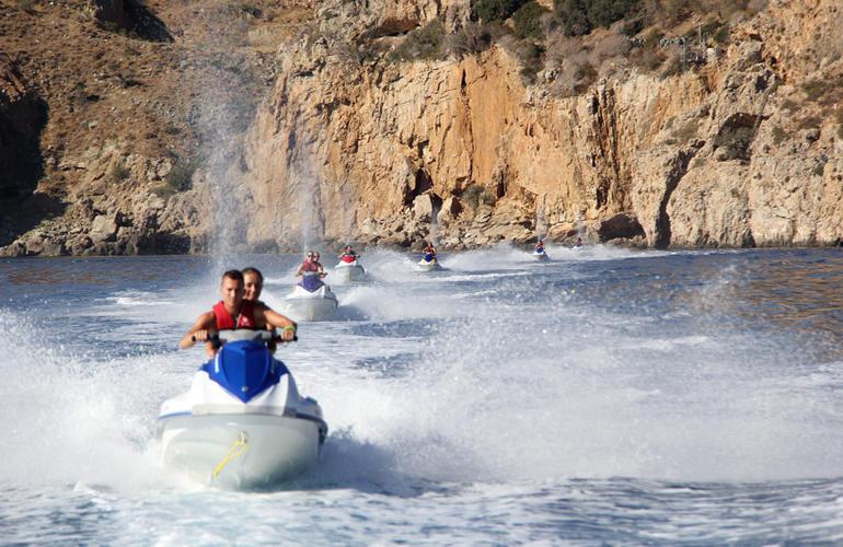 jet ski Crète