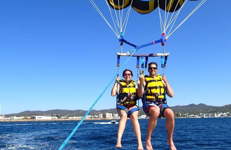 parachute ascensionnel en allemand