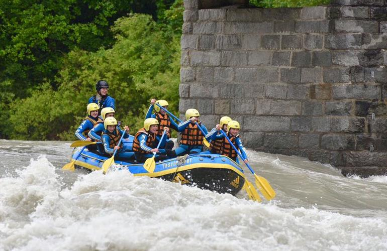 rafting autriche