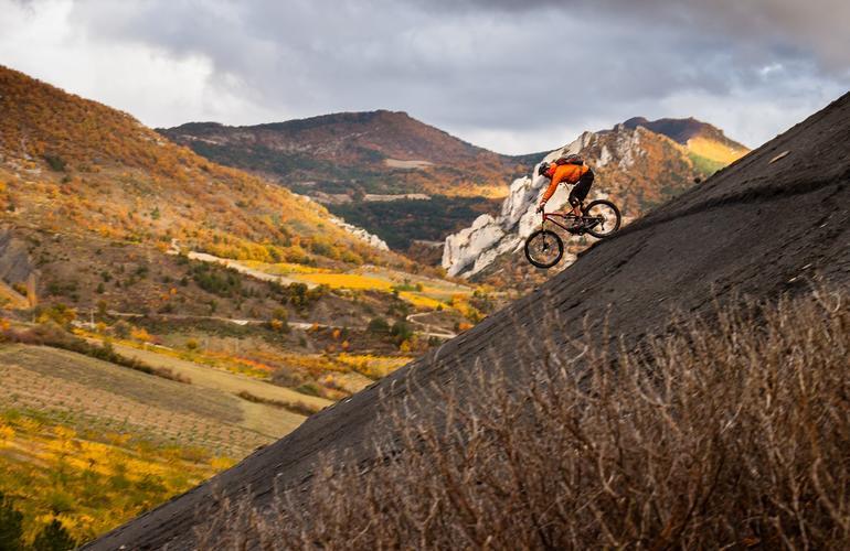 Vélo de Descente - Mont Ventoux