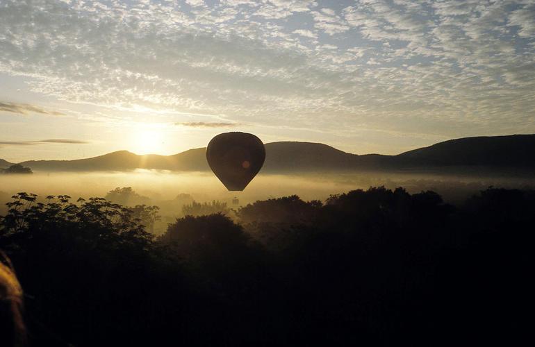 Montgolfière Afrique du sud