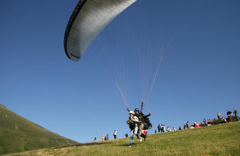 saut en parachute foix