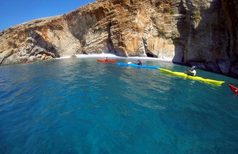 kayak crete grece