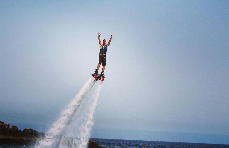 Flyboard à Lanzarote