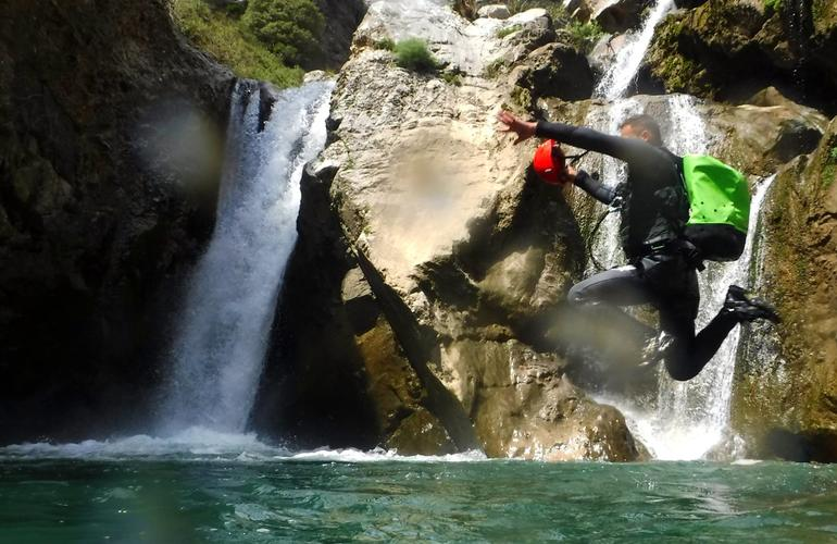 canyoning crète