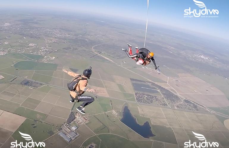 saut en parachute lisbonne