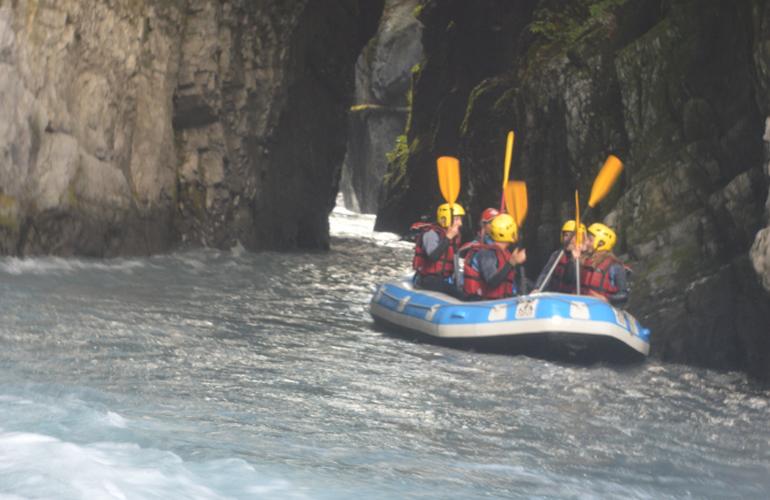 Descente en rafting du giffre samoens - Piscine samoens horaires ...