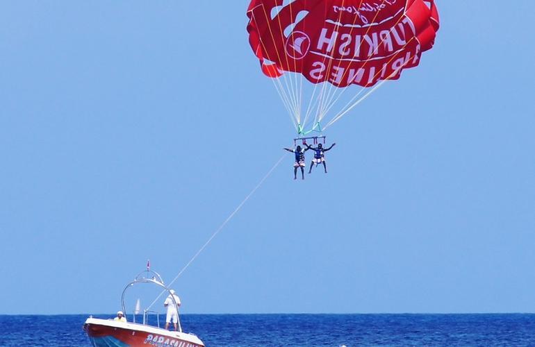 parachute ascensionnel malte