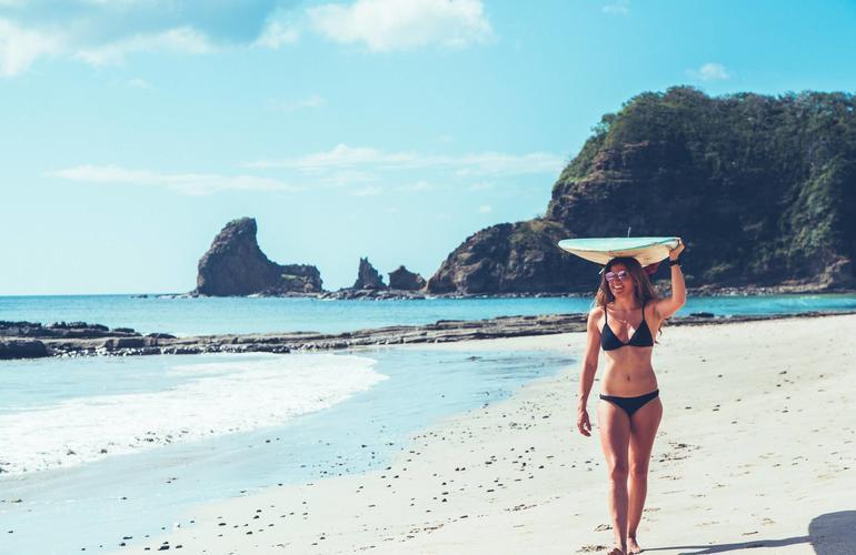 Surf Lesson On Playa Maderas Nicaragua