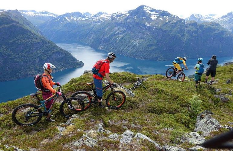 Norvège Vélo de decente