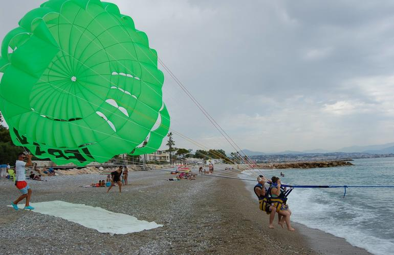 parachute ascensionnel antibes